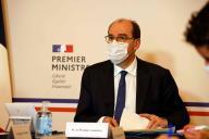 Le premier ministre Jean Castex à Matignon, le 23 novembre.