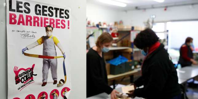 Les Restos du cœur lancent leur 36e campagne d'hiver: «Depuis le confinement, on a vu venir les gens qui ont perdu leurs petits boulots»