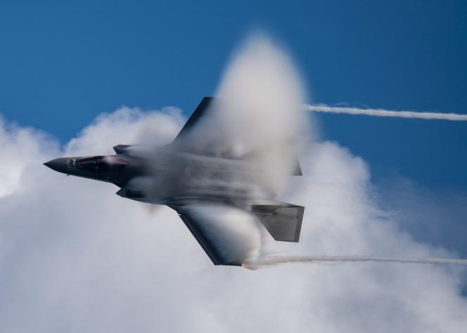 An F-35, November 21, 2020, in the United States.
