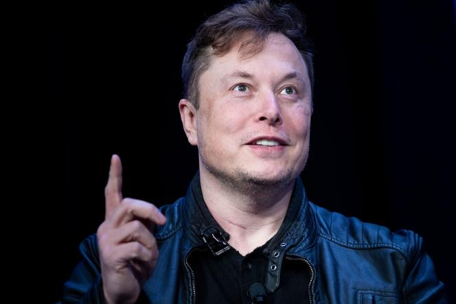 Le patron de Tesla, Elon Musk, à Washington, le 9 mars.
