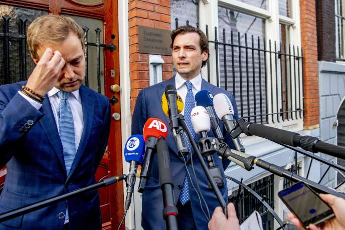 In the Netherlands, Thierry Baudet, figure of the radical right, must throw in the towel