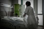 A l'hôpital Robert-Boulin de Libourne (Gironde ), le 6 novembre 2020.