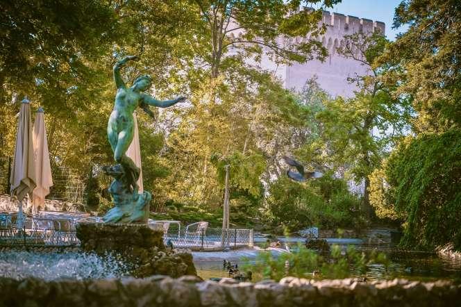 Le jardin du rocher des Doms, en Avignon.