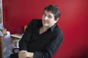 Frédéric Pajak, auteur de « Manifeste incertain», chez lui en 2017 à Paris.
