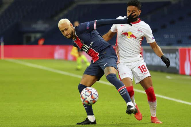 Neymar a ouvert la marque, mardi, face à Leipzig.