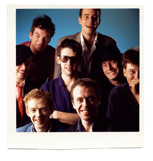 Le groupe The Pogues.