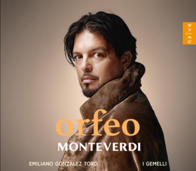 Pochette de l'album« Orfeo», de Monteverdi avec Emiliano Gonzalez Toro (chant, direction) et l'ensemble I Gemelli.