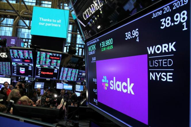A la Bourse de New York, le 20 juin 2019.