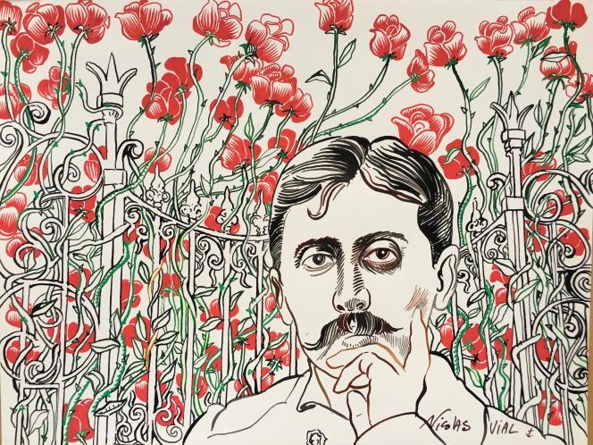 Marcel Proust, par Nicolas Vial.