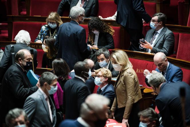 Lors des questions au gouvernement, à l'Assemblée, le 24 novembre.