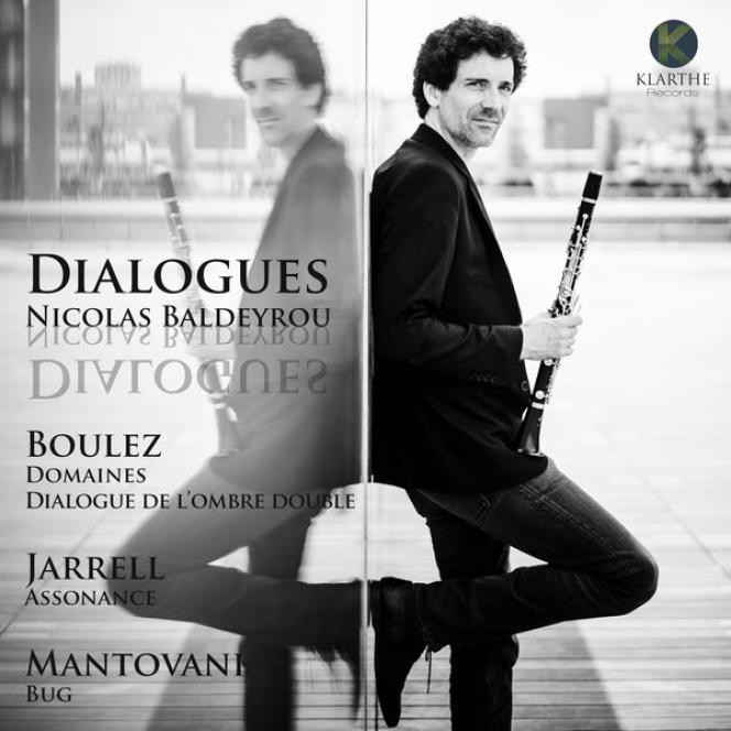 Pochette de l'album «Dialogues», de Nicolas Baldeyrou.