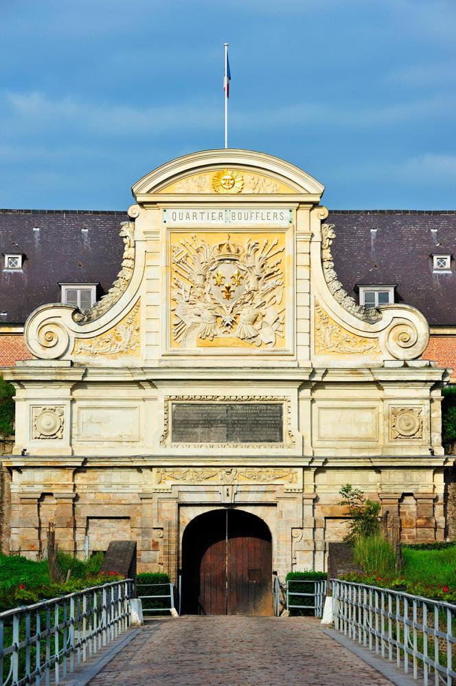 L'entrée de la citadelle de Lille.
