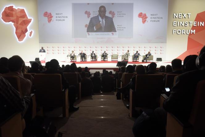 Ouverture du Next Einstein Forum à Dakar, au Sénégal, en mars 2016.