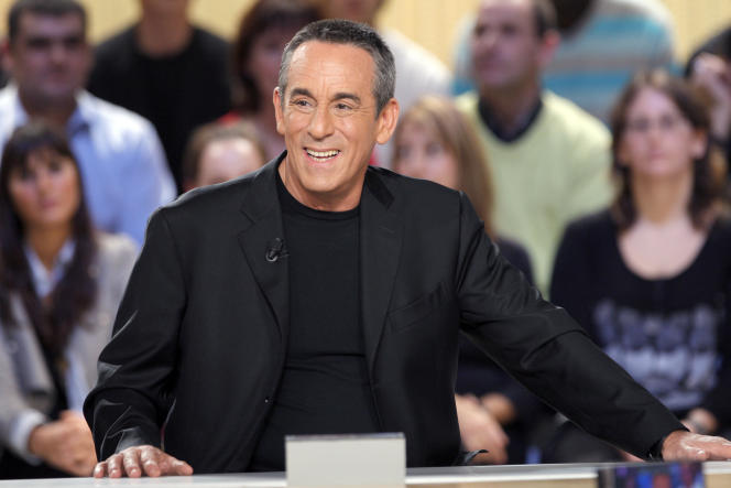 Le présentateur et producteur Thierry Ardisson dans l'émission