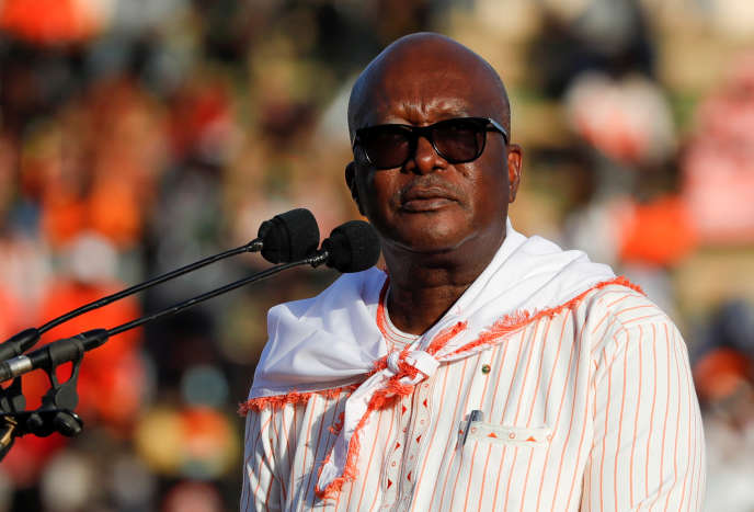 Roch Marc Christian Kaboré reelected in the first round