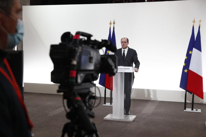 Le premier ministre, Jean Castex, à Matignon, le 26 novembre 2020.