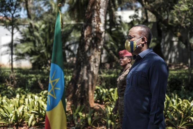 Le premier ministre éthiopien Abiy Ahmed à Addis-Ababa, le 17 novembre 2020. o