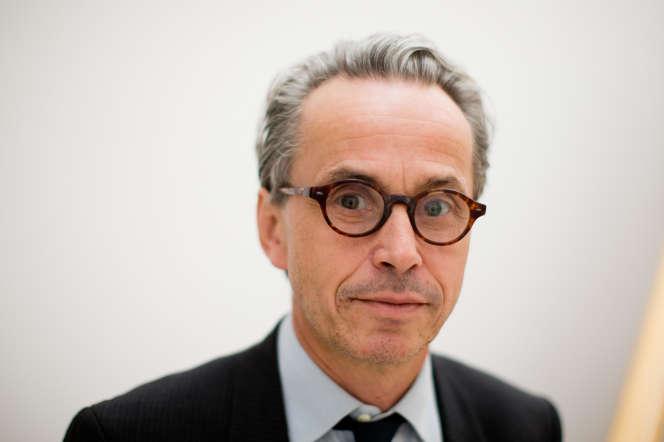 Emmanuel Guigon, aujourd'hui directeurdu Musée Picasso de Barcelone (Espagne), le 10 octobre 2013, àWuppertal (Allemagne).