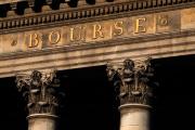 Façade de l'ancienne bourse de Paris, le 18 mai 2020.