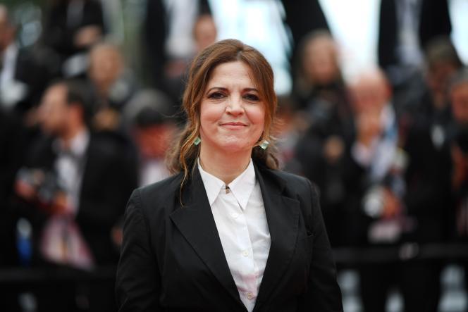 L'actrice et réalisatriceAgnès Jaoui au festival de Cannes, le 20 mai 2019.