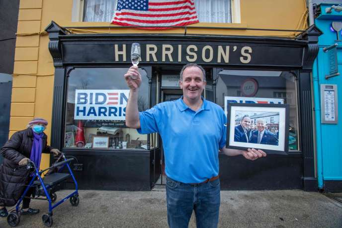Joe Biden's Irish roots cast a shadow over London