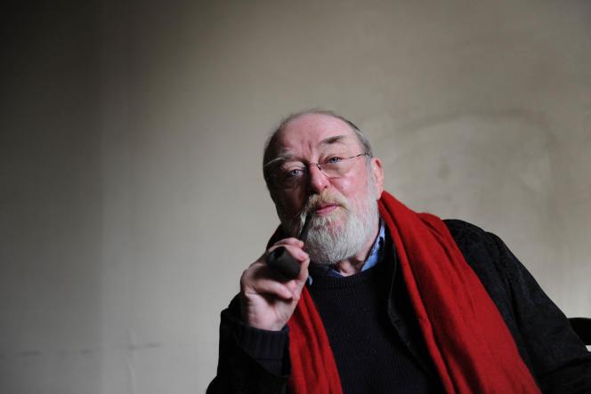 Jean Marie Boeglin en 2011 à Lyon. Ancien militant du FLN et homme de théâtre, créateur du théâtre de la Cité a Villeurbanne avec Roger Planchon.