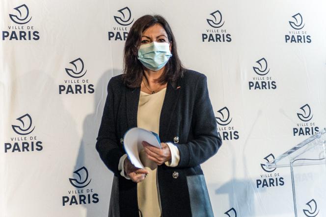 Anne Hidalgo, le 29 octobre, à Paris.