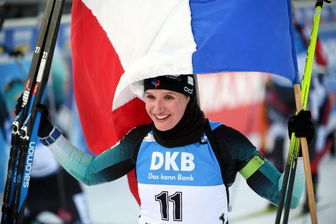 A Kontiolahti, mi-mars, Julia Simon avait décroché sa première victoire en Coupe du monde.