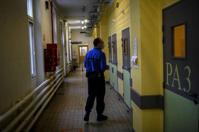 A la prison de Fresnes, le 25 novembre.