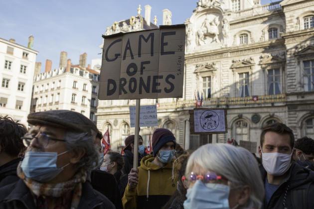 A Lyon, le 28 novembre.