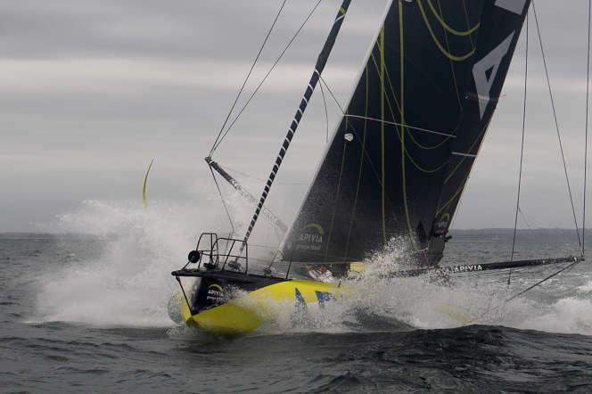 Charlie Dalin (Apivia), en tête du Vendée Globe, a annoncé qu'il devrait franchir Bonne-Espérance lundi 30 novembre.