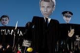 Emmanuel Macron pose ses jalons sur la sécurité pour 2022