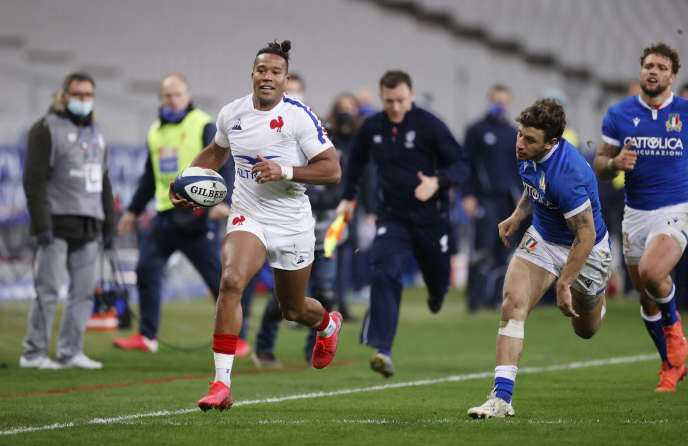 the XV of France bis outclasses Italy and offers a final against England