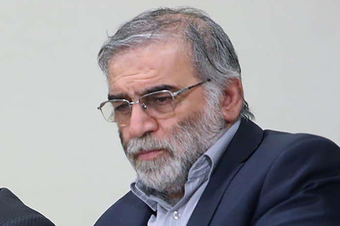 Le physicien iranienMohsen Fakhrizadeh, sur une photo non datée, en Iran.