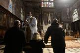 A l'église Saint-Jacques d'Illiers-Combray, dans l'Eure-et-Loir, le 15 novembre.