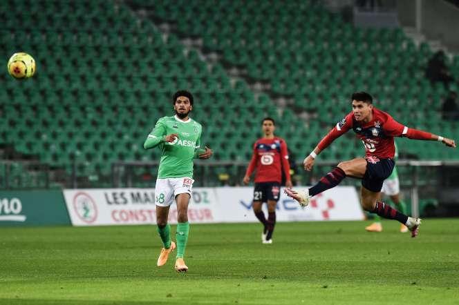 Lille a été tenu en échec à Saint-Etienne.