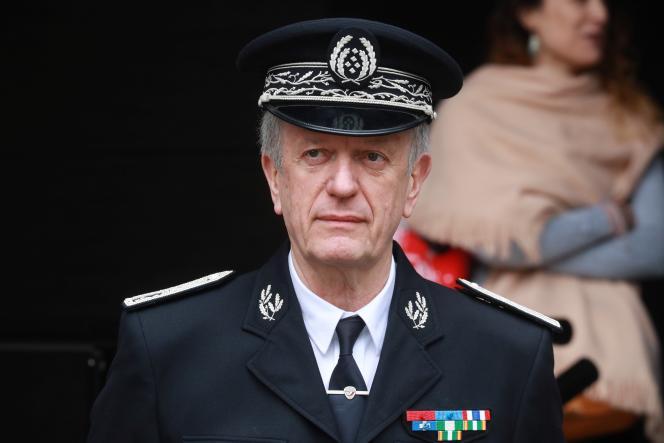 Le directeur général de la police nationale, Frédéric Veaux, le 9 juin à Evry (Essonne).