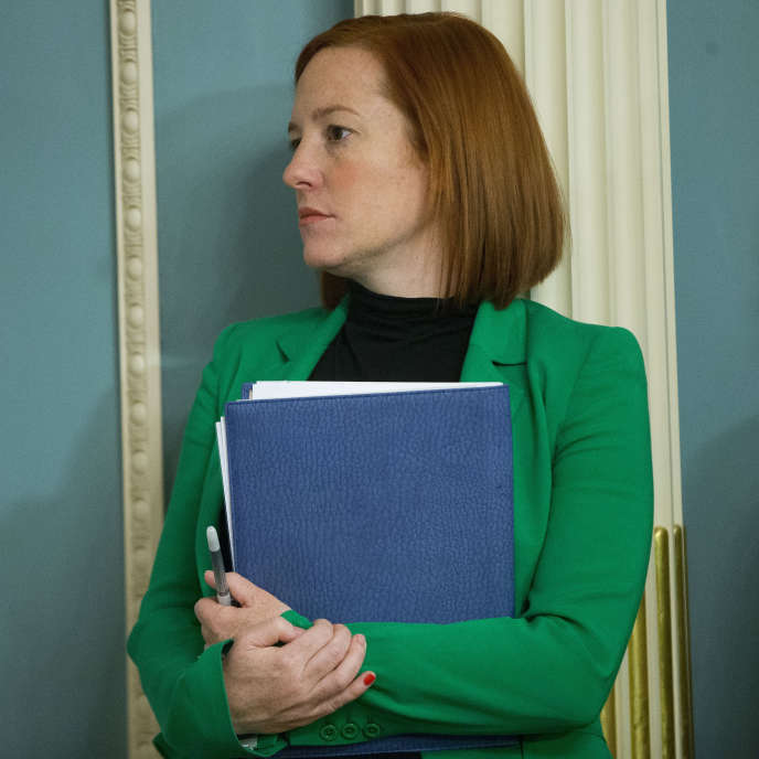 Jen Psaki, then communications director at the White House, in 2015.