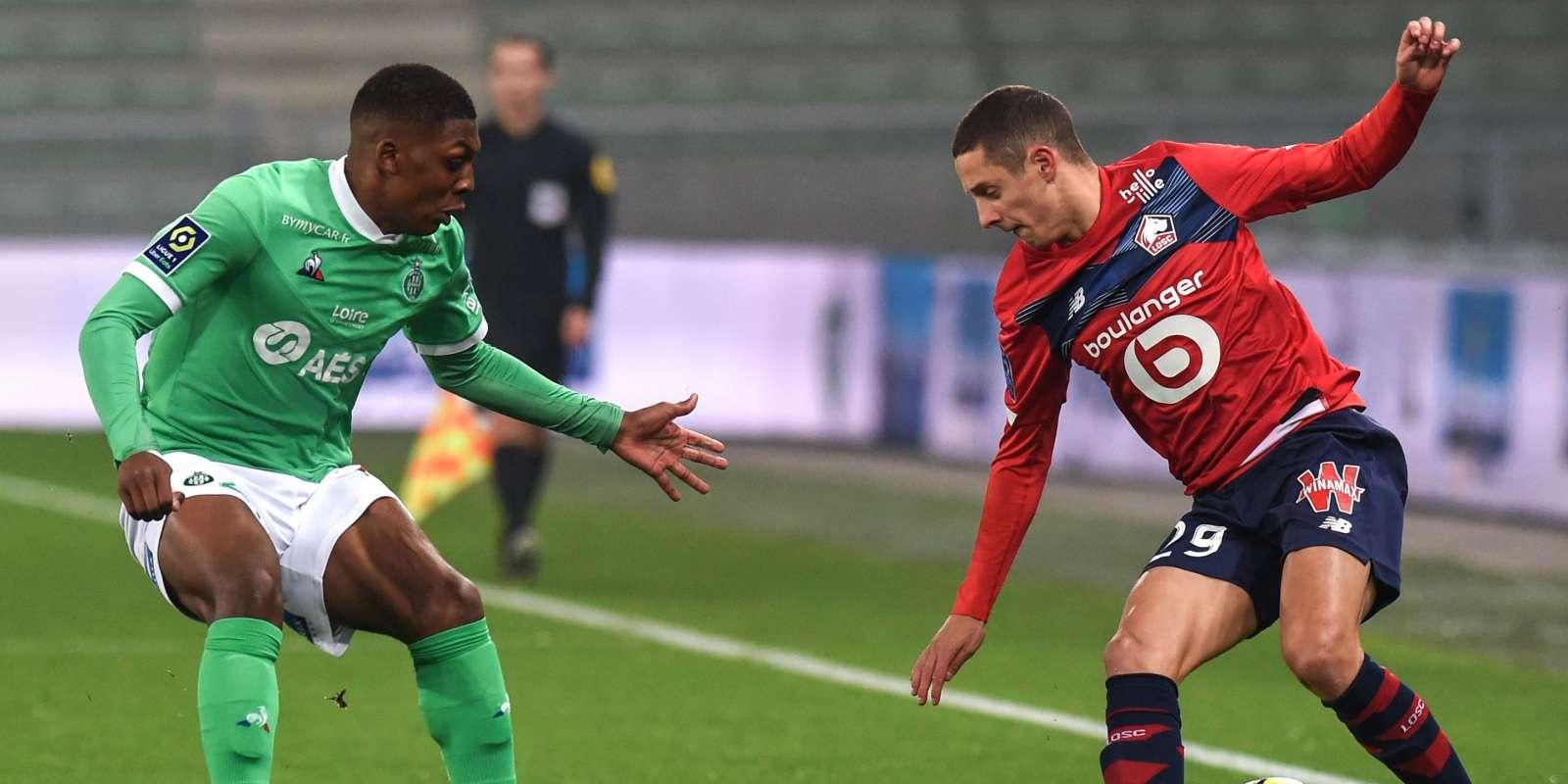 Saint-Etienne affronte Lille dimanche.