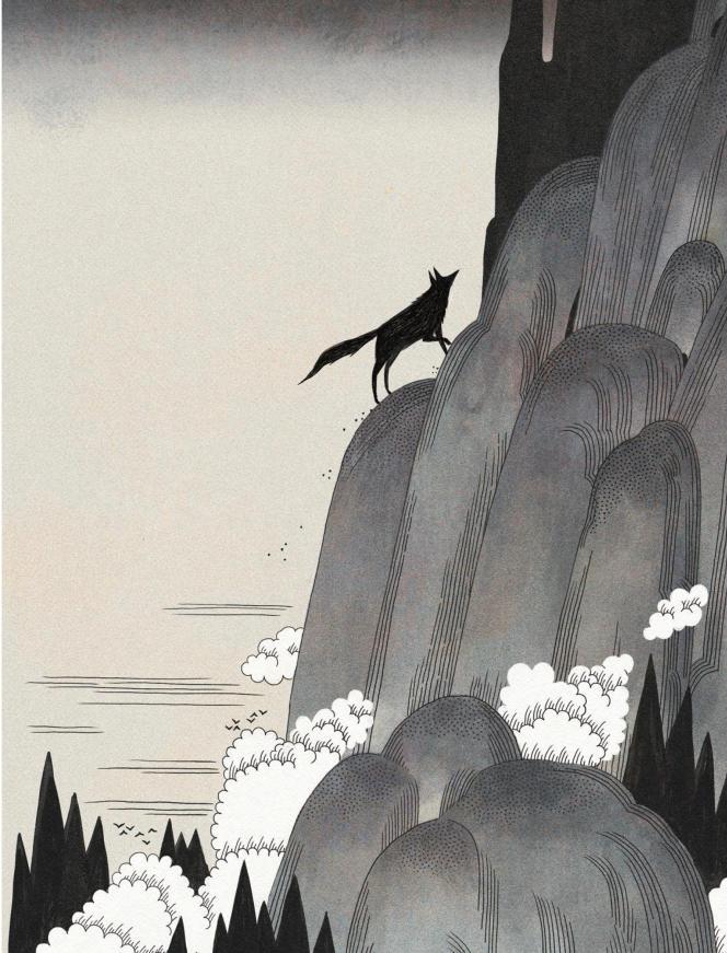 «Le Talisman du loup».