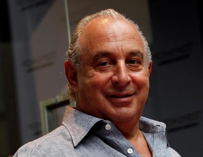 Philip Green, propriétaire du groupe Arcadia, le 6 juin 2013, à Hong Kong.