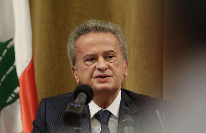 Le gouverneur de la Banque centrale du Liban, Riad Salamé, en novembre 2019 à Beyrouth.