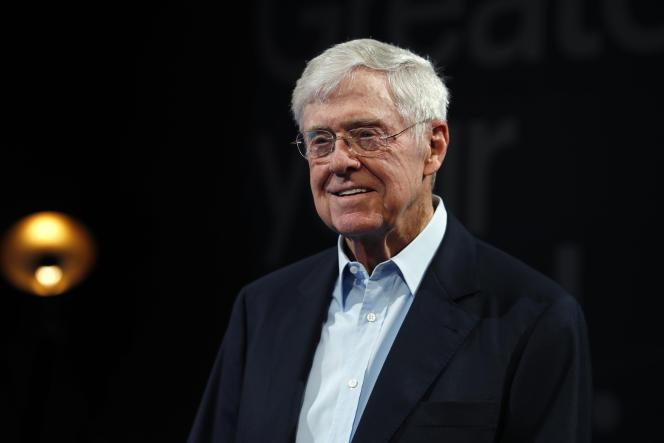 Le libertarien Charles Koch à Colorado Springs dans le Colorado, en juin 2019.