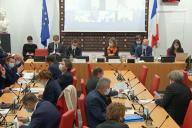 Le ministre de l'intérieur, Gérald Darmanin, a été entendu par la commission des lois de l'Assemblée nationale, lundi 30novembre.