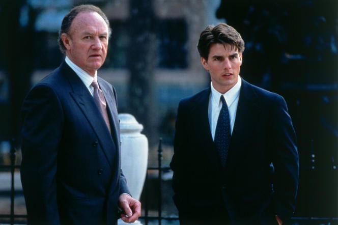 Gene Hackman (Avery Tolar) et Tom Cruise (Mitch McDeere) dans «La Firme» (1993), de Sidney Pollack.