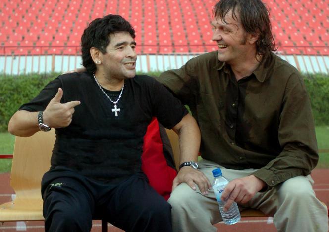 Diego Maradona et Emir Kusturica dans «Maradona par Kusturica», d'Emir Kusturica (2008).