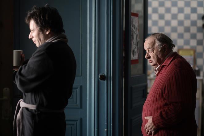 Mathieu Amalric et Jean-Paul Roussillon dans« Un conte de Noël », film français d'Arnaud Desplechin.
