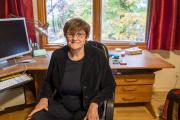 Katalin Kariko, à son domicile e à Rydal (Pennsylvanie), le 26 octobre 2020.