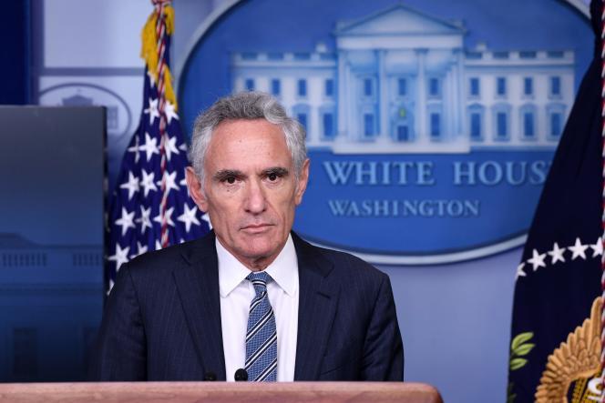 Le docteur Scott Atlas, le 18 septembre à la Maison Blanche.