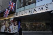 Le magasin Debenhams sur Oxford Street, à Londres, mardi 1er décembre.